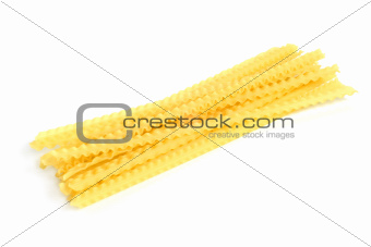 Italian pasta (mafalde)