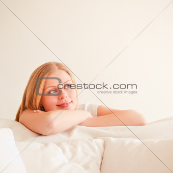 Cute Girl Dreaming