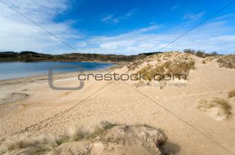 beach close to sea