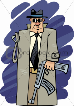 one armed bandit cartoon
