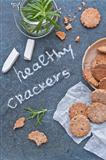 Healthy crackers