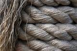 Hemp Rope Background.