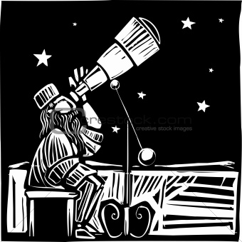 Sitting Astronomer
