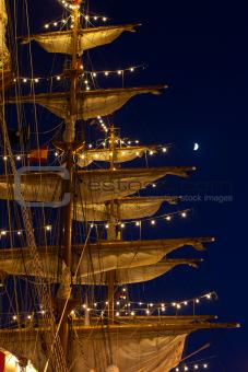 Masts and spats
