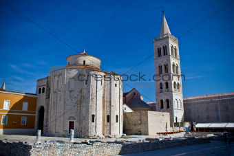 Old church in Town of Zadar