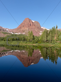 High Uinta reflection.