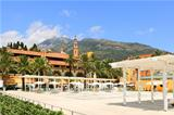 City plaza. Menton, France.