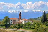 Rural church. Piedmont, Italy.