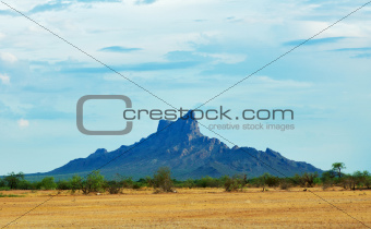 Picacho peak, Arizona, USA