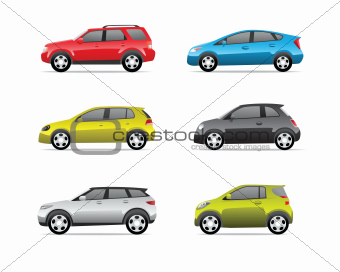 Cars icons set part 2