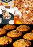 preparation of muffins