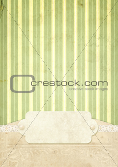 Background in shabby chic style