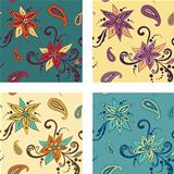 Seamless pattern: Flowers