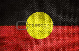 flag of aboriginal
