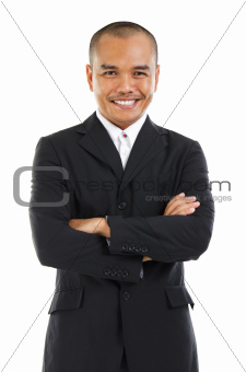 Southeast Asian businessman