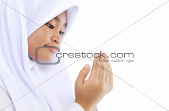 Youth Muslim prayer