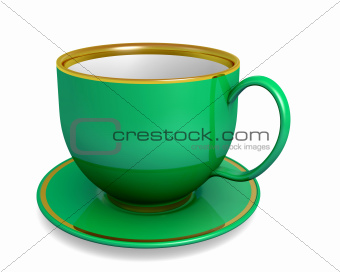 Green - cup