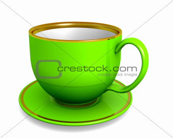Cup - green