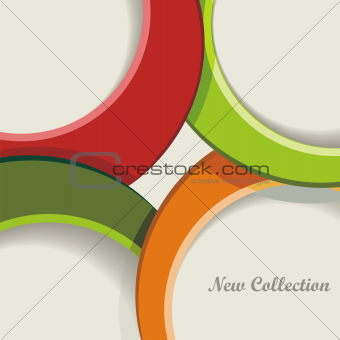 Circle background for a poster or brochure