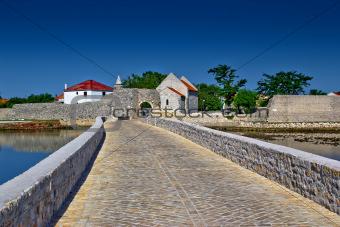 Town of Nin entrance bridge