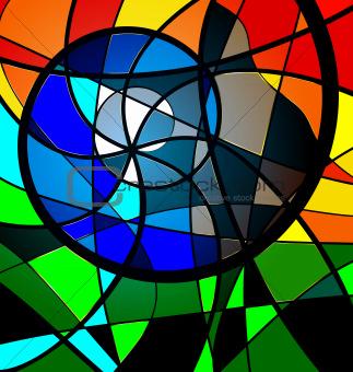 multy-color background variation