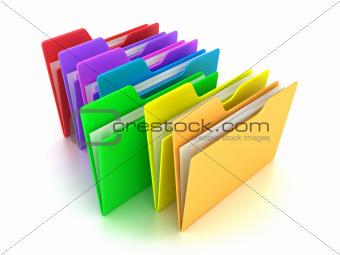 The folders