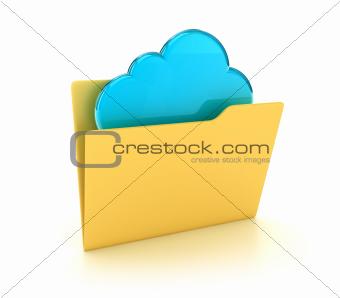 The folder