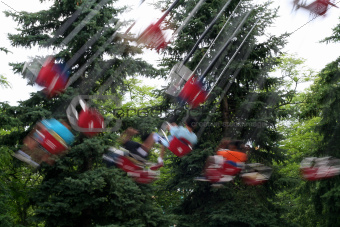 Fairground Swings