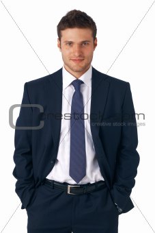 Businessman Standing.