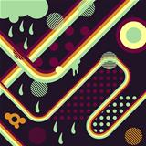 Abstract background retro