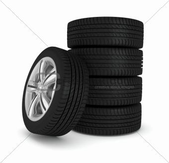five wheels