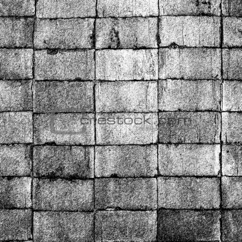 Grunge bricks texture. Abstract geometric background.
