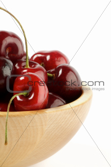 Fresh Swet Cherry Clipping Path