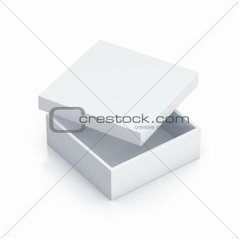 White tall box.