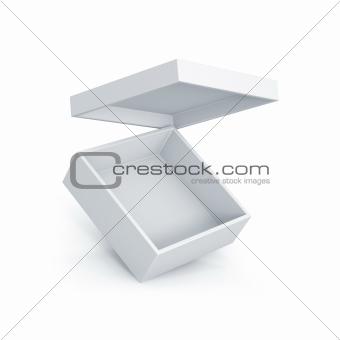 White short box.