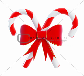 Christmas Candy red bow i