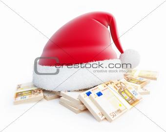 santa hat euro