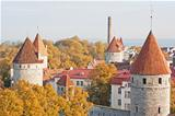 Tallinn wall towers