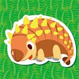 cute dinosaur sticker02