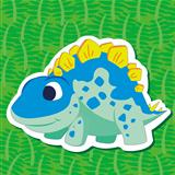 cute dinosaur sticker05