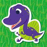 cute dinosaur sticker07