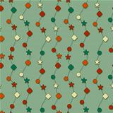 vector seamless christmas wraipping paper pattern