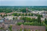 view over a dutch town