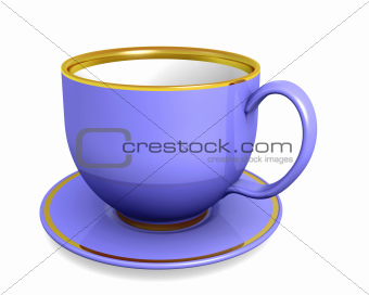 Cup violet