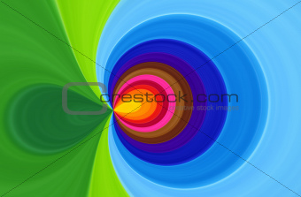 Bright swirl abstract background