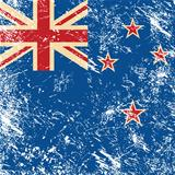 New Zealand retro flag