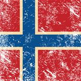 Norway retro flag