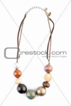 Ceramic beads necklace