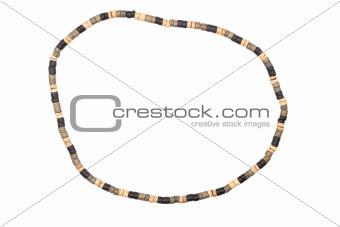 Wooden necklce