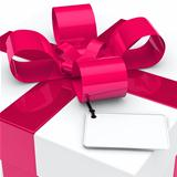 gift box pink ribbon